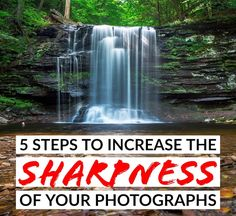 This article gives you five steps you can implement now to help you increase the sharpness of your images.