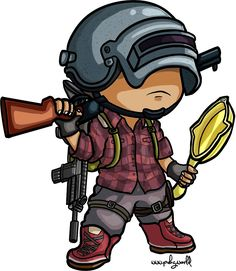 PUBG chibi - Best of Wallpapers for Andriod and ios