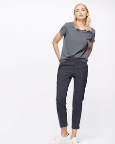 Stretch Melange Portofino Trousers