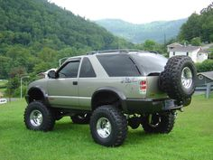 Lifted Chevy Trucks Hot Rod New Cool S10 Zr2