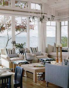 Sarah Richardson Design - Sarah's Cottage/Summer House (Country Living July/August 2011)