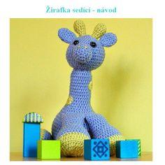 Žirafák Maty - návod Návod na háčkovanou žirafku sedící, ale bude umět i stát :) Posílám v pdf formátu ihned po připsání platby na účet. Poradenství samozřejmostí.
