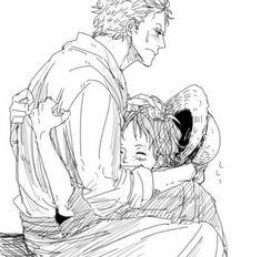 Kawaii ❤ Zoro and Luffy piece One Piece Ship, One Piece Luffy, One Piece Anime, Manga Anime, One Piece Series, One Peace, Monkey D Luffy, Roronoa Zoro, Kawaii