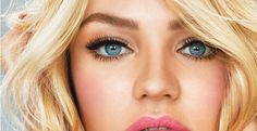 Valentine's Day Look - rosy cheeks and flirty lashes