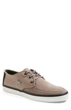 Lacoste boat shoes.