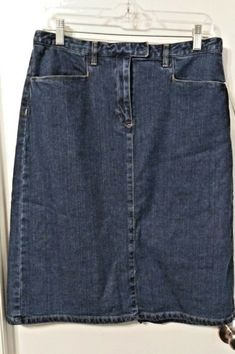 Honesty Mantaray Ladies Stylish Denim Skirt Size 12 Women's Clothing