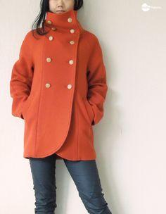 sewing winter coat // Waffle Patterns