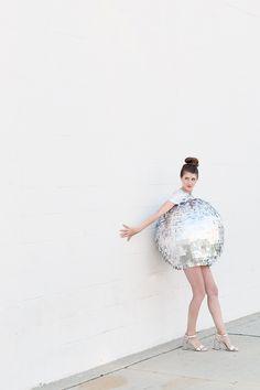 DIY Disco Ball Costume #diy #costume