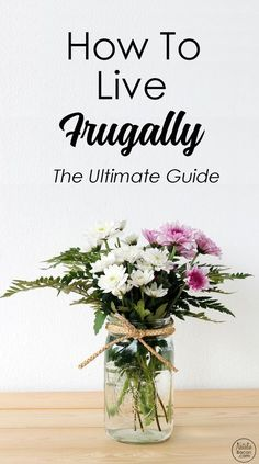 How to Live Frugally (The Ultimate Guide to Frugal Living) by Natalie Bacon