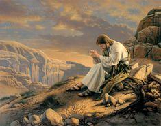 To Be With God - Print  (#AFA-P-TBWG) - Jesus Christ on LDSArtShop.com