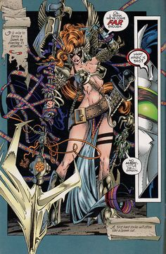 Angela (from Spawn) by Todd McFarlane