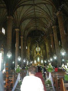 The Marry Adventures: Basilica Minore de San Sebastian: The Steel Church
