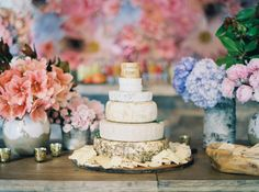 Photography : Sarah Kate Read More on SMP: http://www.stylemepretty.com/living/2015/08/24/floral-infused-50th-birthday-celebration/