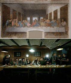 """The Last Supper"""" by Leonardo da Vinci 1"""
