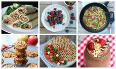 8 sunne frukoster du kan klargjere kvelden i forveien! Hummus, Yummy Food, Breakfast, Ethnic Recipes, Morning Coffee, Delicious Food