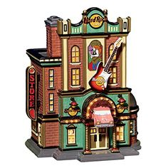 Department 56 Hard Rock Cafe Snow Village New in Box * Be sure to check out this awesome product.