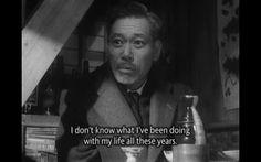 """Ikiru (生きる, """"To Live"""") Akira Kurosawa"""