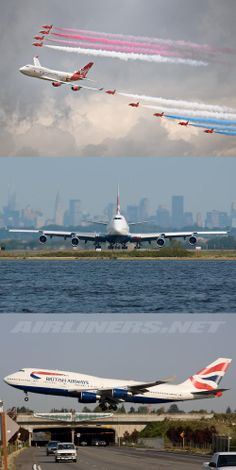 Boeing 747 & The Red Arrows