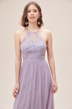 This poetic embroidered bridesmaid dress features delicately stitched blooms strewn with light-catching sequins, atop a high-neck illusion bodice. A sweeping layered soft net skirt enhances the romantic bridesmaid vibe. Available in Sydney, Melbourne & Online. Melbourne, Sydney, Bridesmaids, Bridesmaid Dresses, Illusion, Bodice, Sequins, Romantic, Gowns