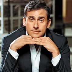 Steve Carell: He is one of those men that puts a smile on my face the second I look at him. What a gift it is to be able to do that to people.He is so funny, a good actor and he really is a good looking guy. Carla Mendez-Gillespie