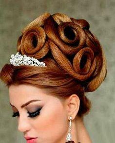 African American. Black Bride. Wedding Hair. Natural Hairstyles. .