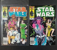 Lot of Star Wars Comic Books #107 Last Issue Marvel 1986 Vintage Rare 106 25th $