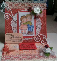 love magnolia stamps and copics