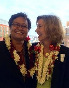 Meet The Women Who Won The First Same-Sex Marriage Court Case 19 Years Ago. Ninia Baehr and Genora Dancel showed that court victories for marriage equality were possible. Now they're in Washington, D.C., hoping the Supreme Court will finish the job.