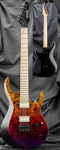 Kiesel Guitars A6H 24 Fret Bolt-On Neck Guitar Serial Number 136618