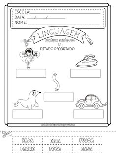 Notebook da Profª: Famílias Silábicas
