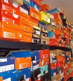 HUGE LOT MENS WOMENS ATHLETIC Shoes NIKE ADIDAS PUMA ASICS JORDAN 30 PAIRS NIB #NikeAdidasNewBalanceAsicsPuma