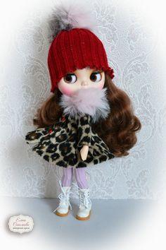 Snowy jungle. Set for Blythe. for Blythe/Pullip  dolls clothes.
