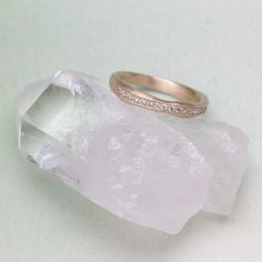 The story of your life is told in small moments that make up a beautiful journey. The hand-crafted passage ring is a meaningful way to mark a significant moment from a birthday to an anniversary or graduation. Hand-molded, cast in your choice of 10K or 14