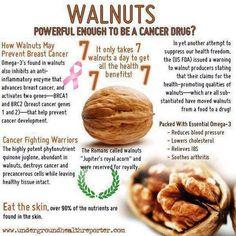 HEALTHY BENEFITS OF WALNUTS