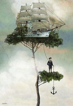 Algumas vezes, devemos subir a ancora das nossas vidas e navegar nas aguas dos nossos sonhos e esperancas. Do contrario, que graca teria em viver?