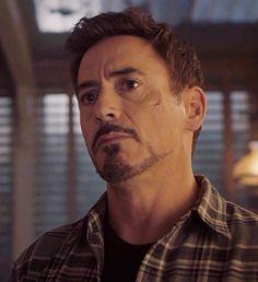 Tony Stark at the old Barton farmstead.