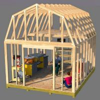 Shed plans for barn roof style sheds. - easy shed plans. 10x10 Shed Plans, Lean To Shed Plans, Wood Shed Plans, Free Shed Plans, Shed Building Plans, Storage Shed Plans, Building Ideas, Cabin Plans, Barn Style Shed