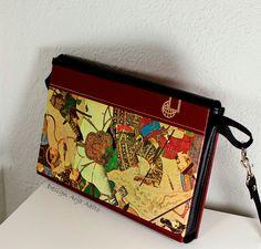 Purse, made of old book. Book Purse, Old Books, Bag Making, Purses And Handbags, Design, Antique Books, Design Comics