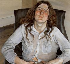 Famous portraits by Lucian Freud, Freud self portrait, paintings by Lucian Freud, Benefits Supervisor Sleeping how much is it worth.