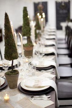 topiary tablescape