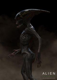 Early Neomorph Concept Art for Alien: Covenant Alien Covenant Movie, Alien Covenant Concept Art, Alien Concept Art, Alien Film, Alien Art, Science Fiction, Giger Art, Hr Giger, Alien Vs Predator