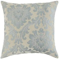 Originating in the early Middle Ages, damasks have long been prized for their elegance and rich global character. Inspired thusly, our glamorous throw pillow is crafted using plush chenille fabric—perfect for adding a touch of drama to sofas, chairs and reading nooks.