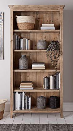 NEW Provence Tall Bookcase - Storage Furniture - Storage Furniture & Solutions Bookcase Styling, Bookshelf Design, Bookcase Storage, Bookcase In Living Room, Bookshelf Ideas, Decorating Bookshelves, Homemade Bookshelves, Diy Furniture Couch, Furniture Storage