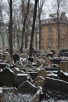 Starý Židovský Hřbitov - Il cimitero Ebraico - Praga