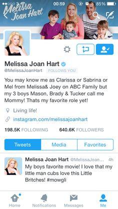 Melissa Joan hart #clarrisa