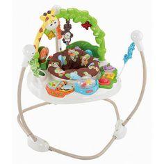 Jumperoo Go Wild, diversäo, som , luzes e exercícios para seu bebê. Brinquedo e Brincadeira locaçöes.