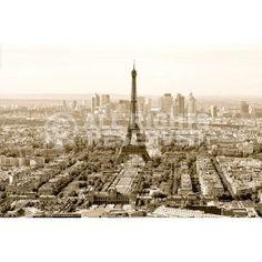 Poster: Paris in sepia zum Verkauf online. Bestellen Sie Ihre Poster, Ihre 3D Film-Poster oder ähnliches interessantes Deco Panel 60x90