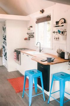 кухня дом на колесах