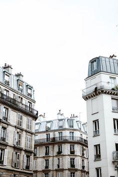 gorgeous Parisian buildings