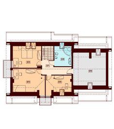 Rzut DN KENDRA 2M CE Malm, Floor Plans, Houses